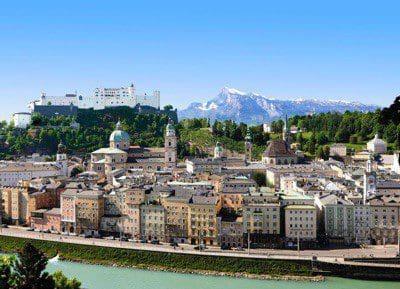 Stadtüberblick Salzburg-Stadt