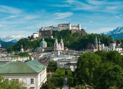 Stadtüberblick Salzburg