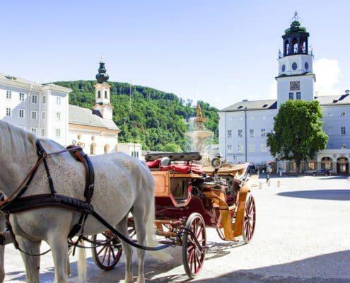 Kutschenfahrt in Salzburg