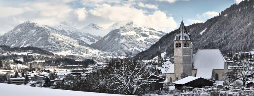 Lage und Umgebung von Kitzbühel