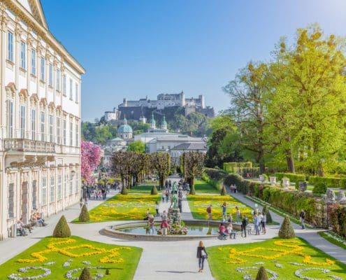Schloss Mirabell - Sehenswürdigkeiten in Salzburg