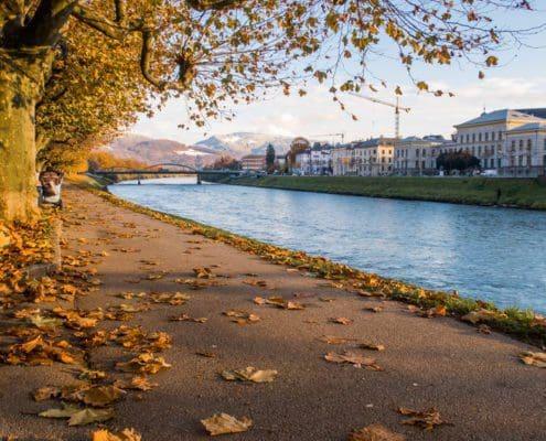 Salzburg im Herbst
