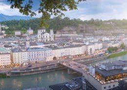 Freizeitmöglichkeiten in der Stadt Salzburg