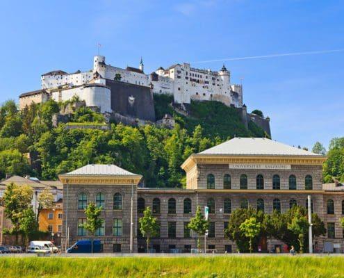 Salzburg Universität, Bildungsmöglichkeiten in Salzburg