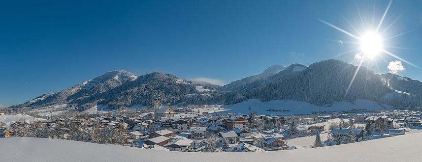 Panoramablick Kitzbühel