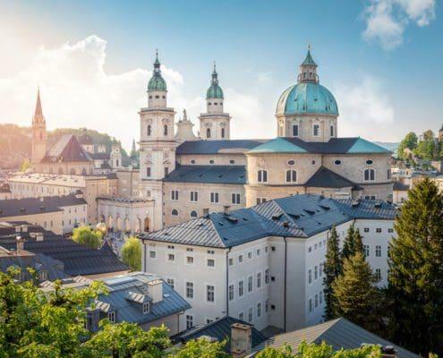 Die Nähe zur Stadt Salzburg
