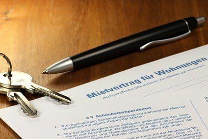 Mietvertrag für die Wohnung aufsetzen