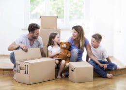 Umziehen mit Kind: Das müssen Sie beachten