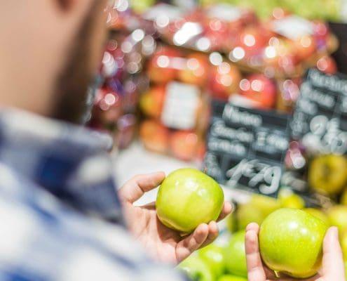Speiseplan regional und saisonal anpassen