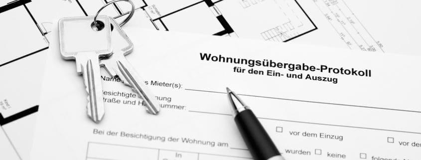 Wohnungsübergabe & Wohnungsübergabeprotokoll: Das sollte enthalten sein