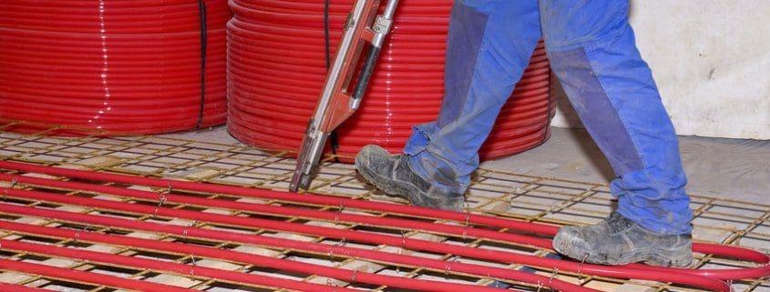 Thermische Bauteilaktivierung / Betonkernaktivierung
