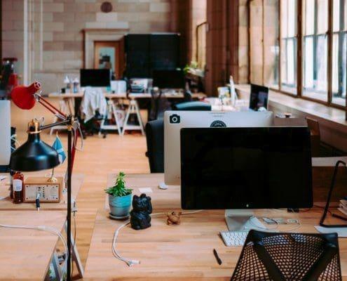 Ideen für die Raumgestaltung von Großraumbüro und Gruppenbüro