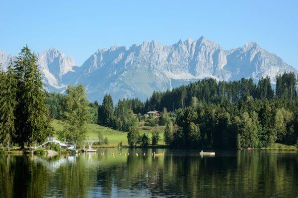 Schwarzsee in Kitzbühel zum Entspannen
