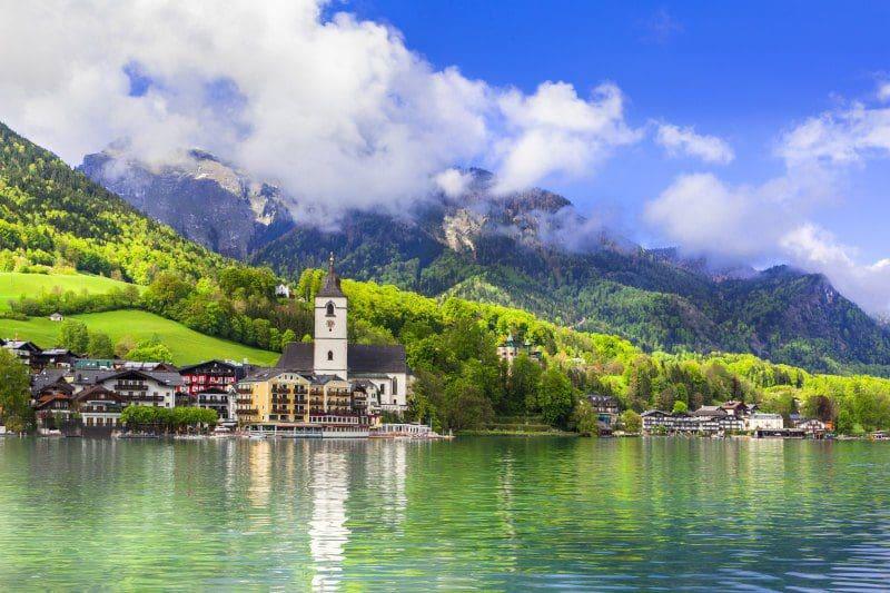 Salzburg und der Wolfgangsee
