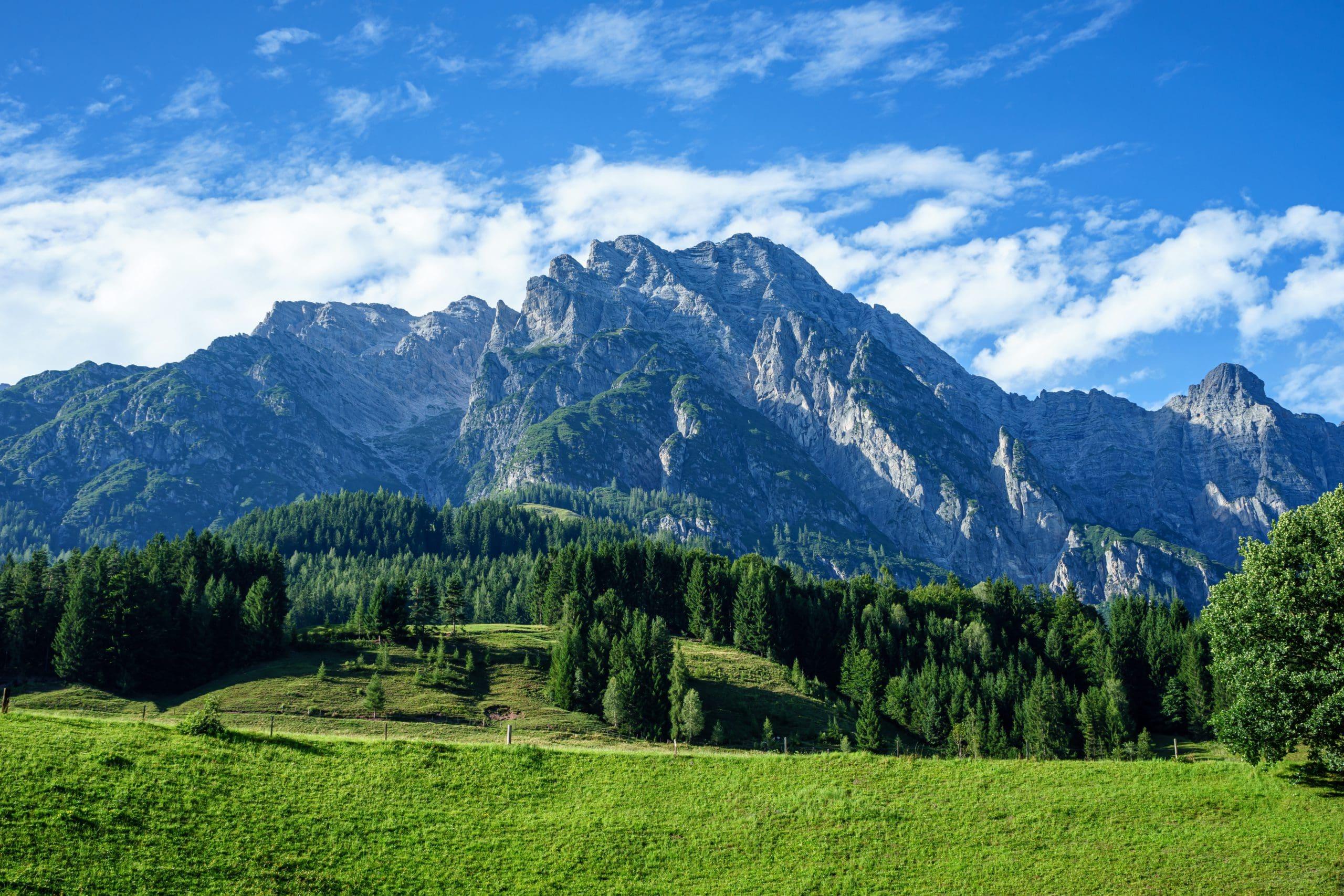 Salzburg und Natur als ideale Lebensbedingung