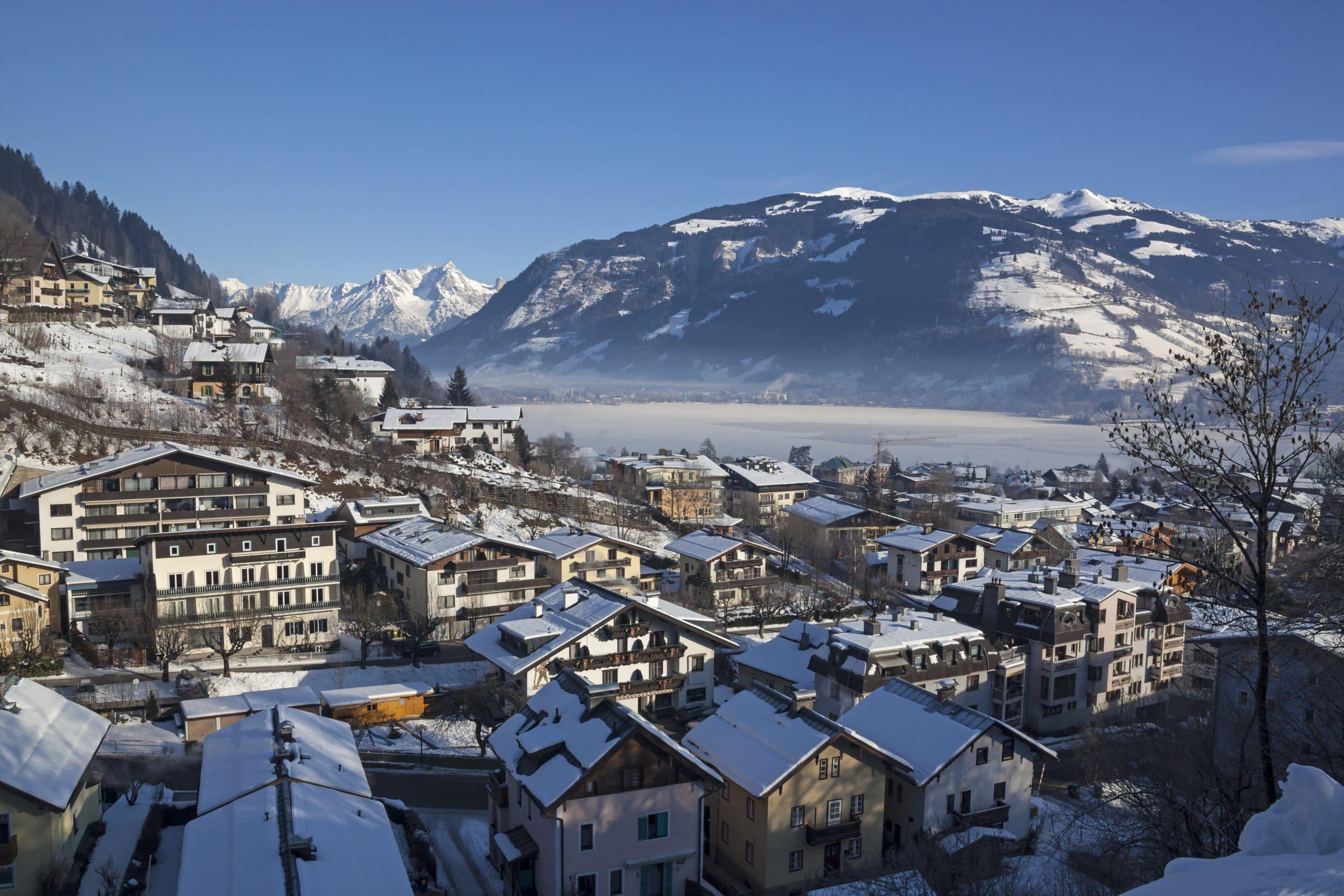 Zell am See im Winter