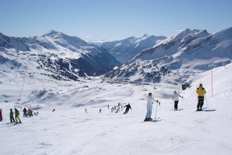 Skigebiet Obertauern in Salzburg