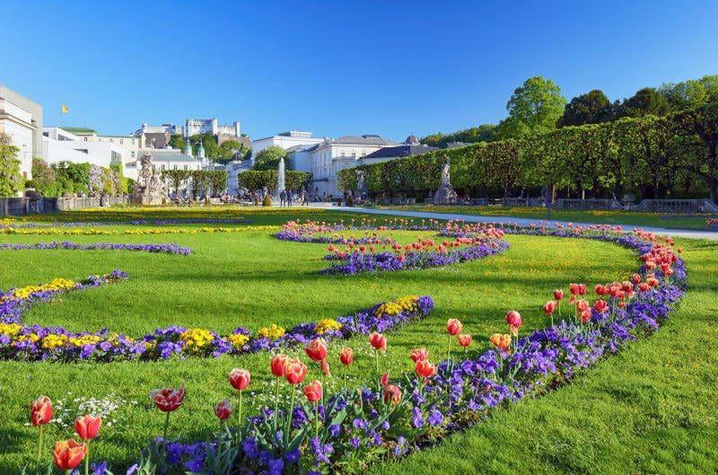 Parkanlage in der Stadt Salzburg