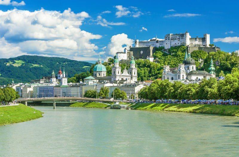 Blick auf Salzburg und die Festung